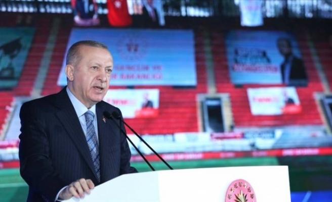 Erdoğan, depremle sarsılan İzmir'e yapılan hizmetleri anlattı