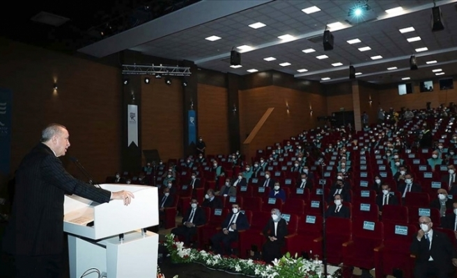 Erdoğan: Uzaya da gideceğiz, küresel lider de olacağız