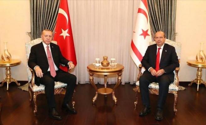 Cumhurbaşkanı Erdoğan Ersin Tatar ile telefonda görüştü