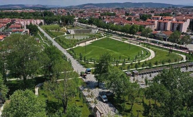 Eski statlar Millet Bahçesi oldu, yeşil alan arttı