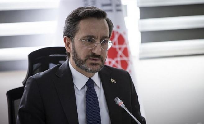 Fahrettin Altun'dan terör mücadelede kararlılık vurgusu