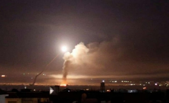 Esed rejiminin iddiası: 'İsrail Şam'ı füzelerle vurdu'
