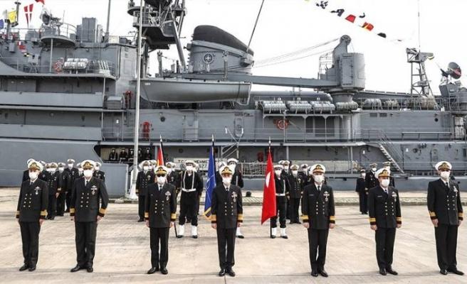 NATO Deniz Görev Grubu-2'nin komutası Türkiye'ye geçti