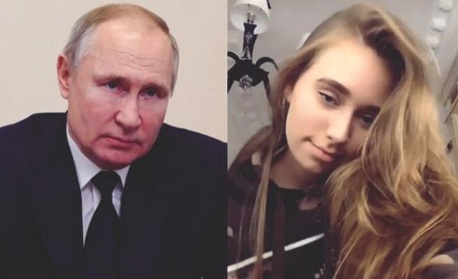 Rusya Devlet Başkanı Putin'in gayrimeşru kızı ilk kez konuştu