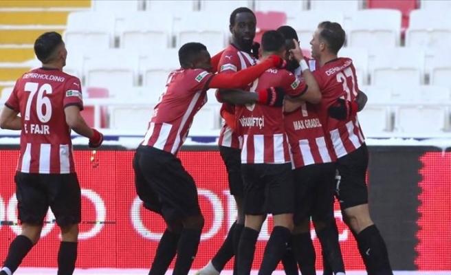 Demir Grup Sivasspor 2-0 Hes Kablo Kayserispor