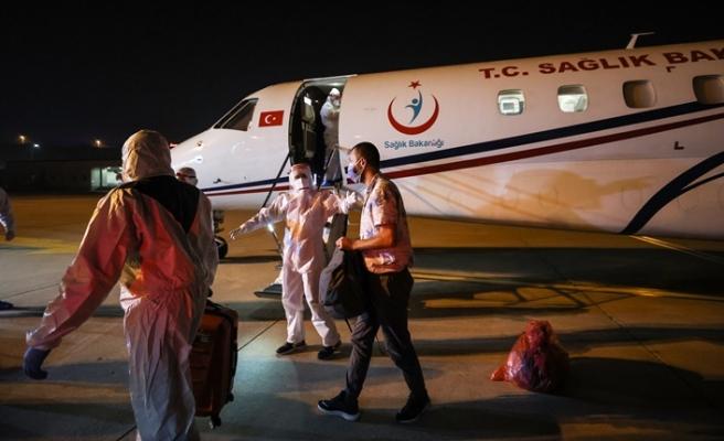 Tanzanya'daki Kovid-19 hastası 3 vatandaş Türkiye'ye getirildi