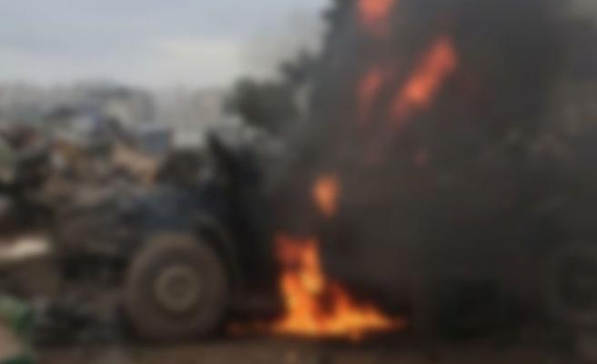 Cinderes'te bombalı saldırı: 1 ölü, 4 yaralı