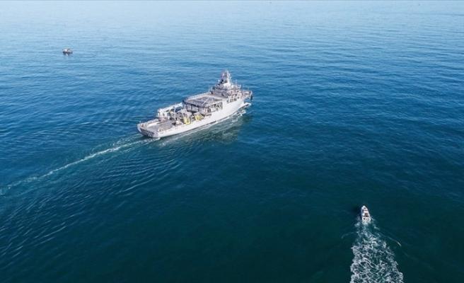 TGC Çeşme gemisine Yunanistan tacizi