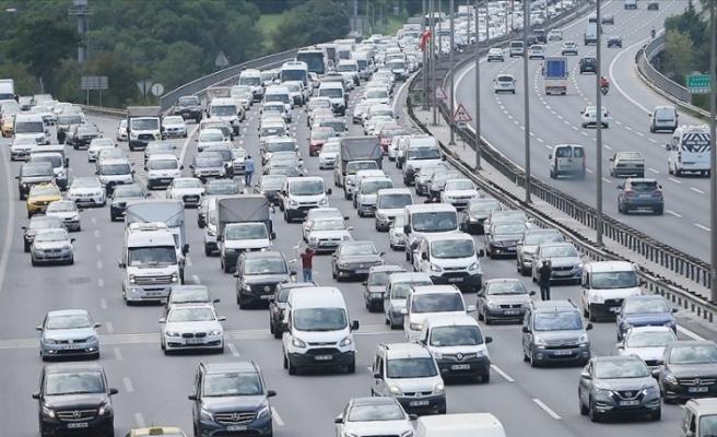 TÜİK açıkladı: 117 bin 313 aracın kaydı yapıldı
