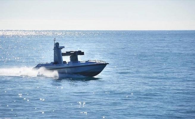 ilk silahlı deniz aracı  Mavi Vatan ile buluştu