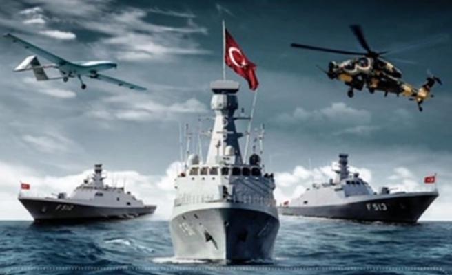 170 savaş gemisi Mavi Vatan tatbikatı için Akdeniz ve Ege'de
