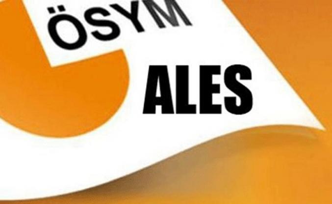 Merakla beklenen ALES sonuçları açıklandı