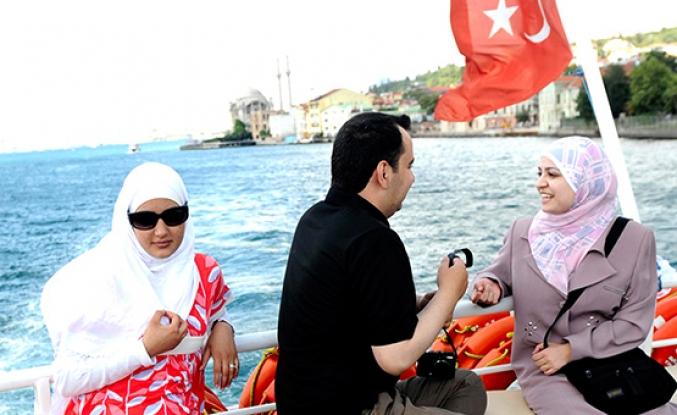 Arap turistler İstanbul'u tercih ediyor