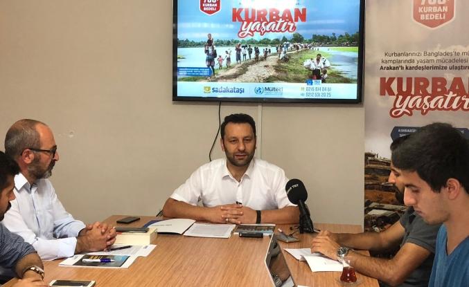 'Arakanlılara bayram yaşatmak istiyoruz'