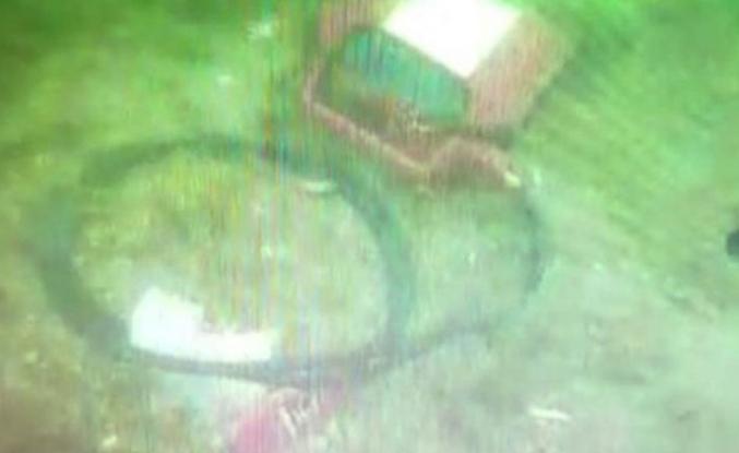 Düşen helikopterin enkazından ilk görüntüler