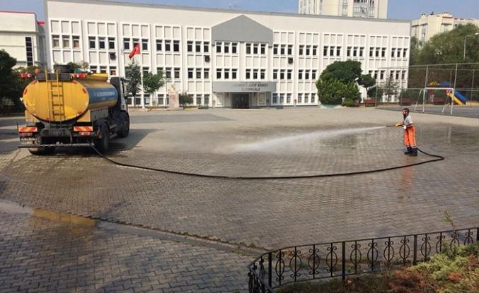 Belediye okulları yeniledi