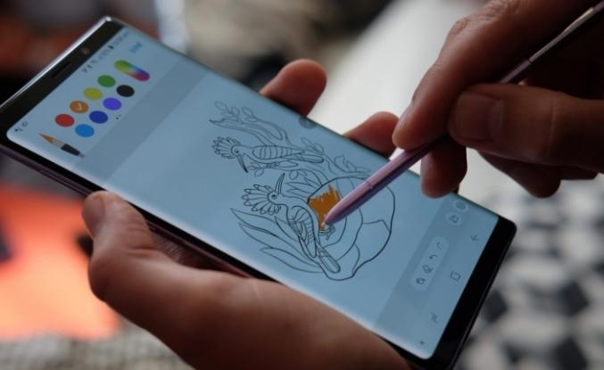 Galaxy Note 9 tutuştu