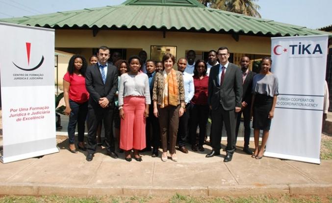 TİKA'dan Mozambik'e büyük destek