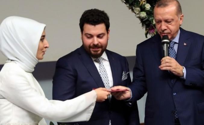 Kampüste evlendiler, şahitleri Erdoğan oldu