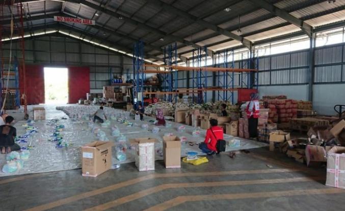 Kızılay'dan Endonezya'ya yardım konvoyu