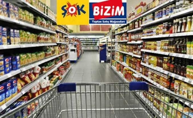 ŞOK ve Bizim Toptan Market'in enflasyonla mücadele listeleri açıklandı