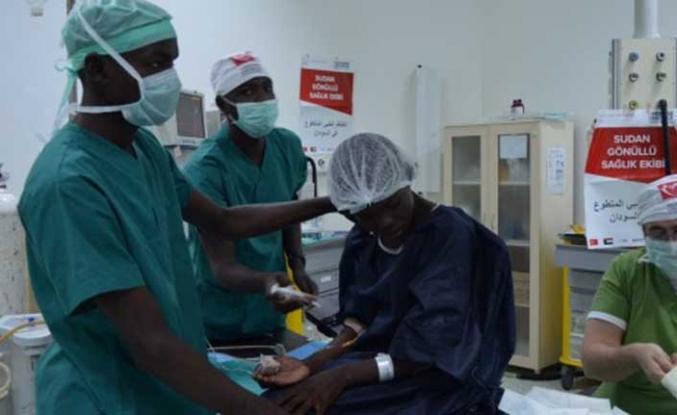 TİKA Sudanlı hastalara umut oldu