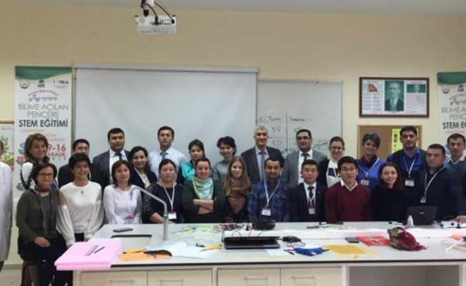 TİKA'dan Orta Asyalı öğretmenlere STEM eğitimi