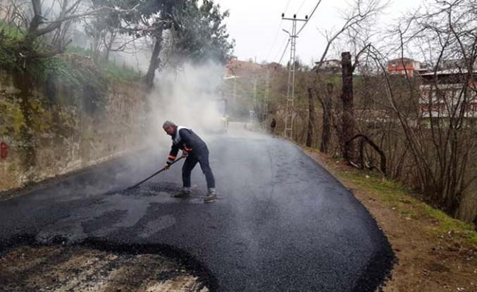 Trabzon Büyükşehir asfaltlama çalışmalarına başladı