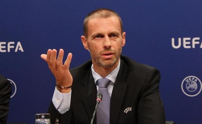 UEFA Başkanı Ceferin'den Kulluk'a teşekkür