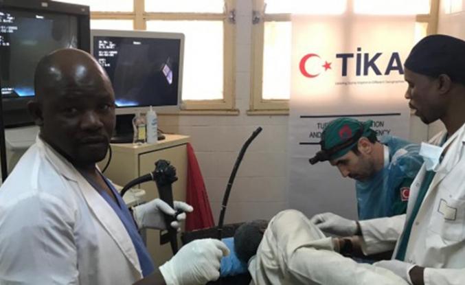 TİKA Nijer'de sağlık eğitimi verdi