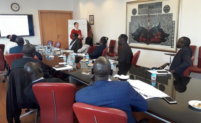 TİKA'dan Güney Sudanlı diplomatlara eğitim