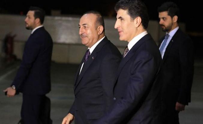 Bakan Çavuşoğlu'nun Irak'ta görüşme trafiği