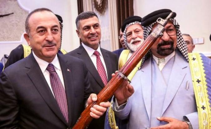Bakan Çavuşoğlu'na çok özel hediye