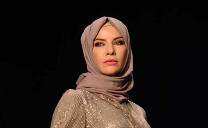 Ünlü modacı Ivana Sert, Mizalle'nin defilesinde podyuma çıktı