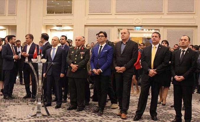 Azerbaycan Cumhuriyeti'nin 101'inci yıl dönümü kutlandı