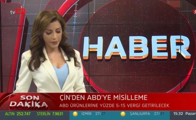 Ela Rumeysa Cebeci TV100'de