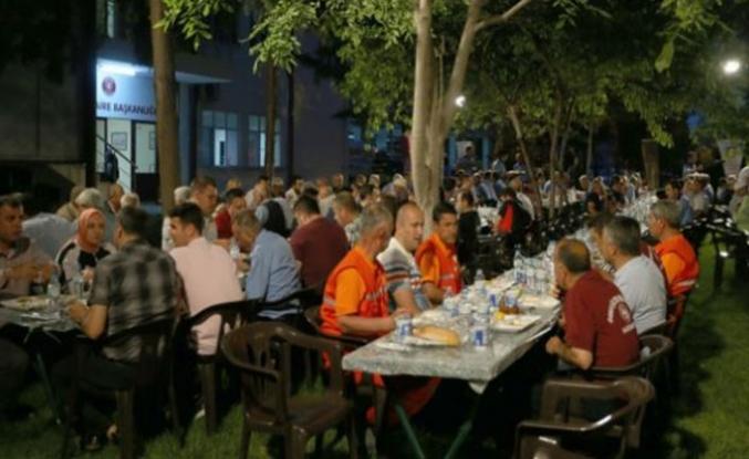 Gaziantep'in itfaiyecileri iftarda buluştu