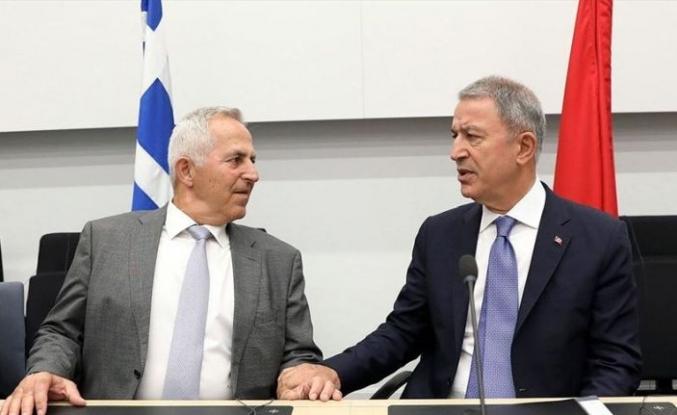 Milli Savunma Bakanı Akar, Yunan mevkidaşıyla görüştü
