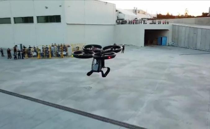 Türkiye'nin ilk uçan arabası Cezeri  hazır