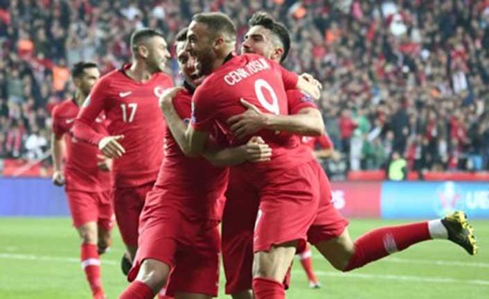 Milli Takım Euro 2020 elemelerinde fırtına gibi: 4-0