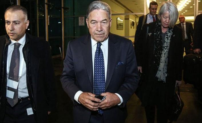 Yeni Zelanda Dışişleri Bakanı Türkiye'de