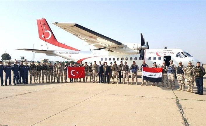 25 askeri personel NATO görevi için Irak'a gitti