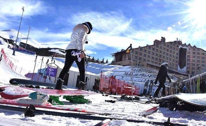 Tepki çeken görüntülerden sonra Bakanlıktan kayak merkezleri genelge