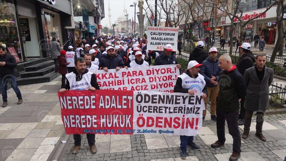 CHP'li belediyede işçiler ayaklandı!