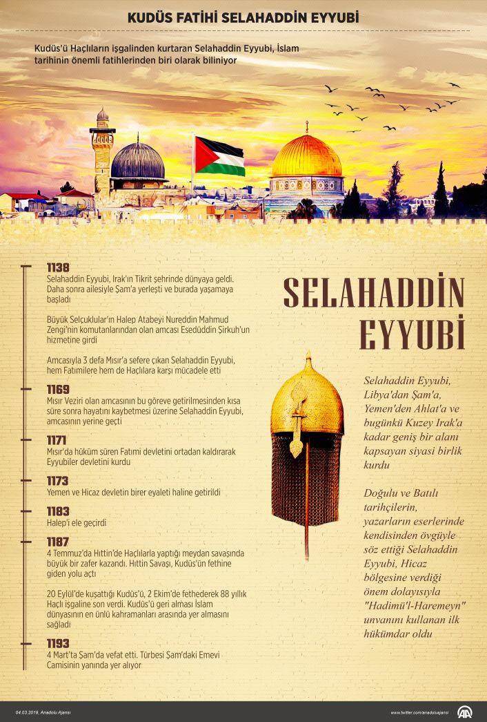 Şarkın en sevgili sultanı Selahaddin-i Eyyübî'nin vefat yıl dönümü