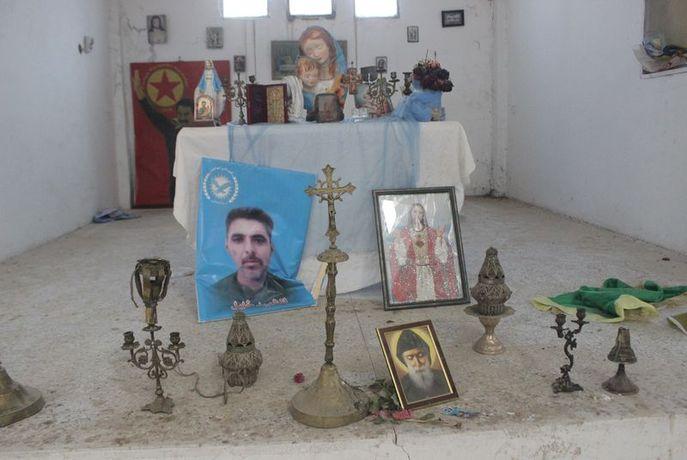 İşte YPG/PKK'nın karargah yaptığı Ermeni kilisesi! - Son Dakika Güncel  Haberler