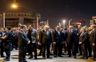 Erdoğan 24 yıl önce Taksim Camii'nin yerini böyle göstermişti