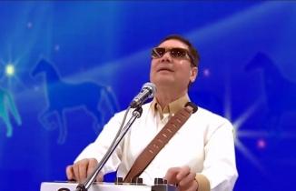 Türkmenbaşı torunuyla rap yaptı