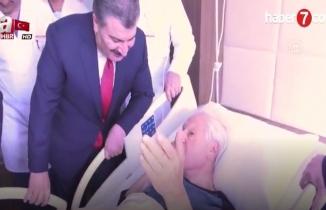 Başkan Erdoğan'dan Nuri Pakdil'e telefon